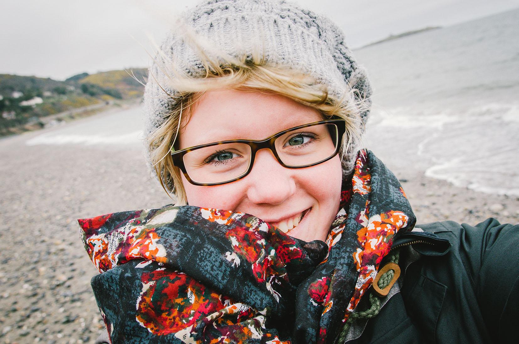 Killiney Beach Selfie